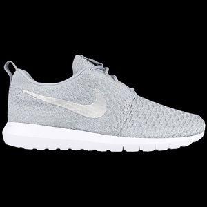 Nike Roche White Flyknits